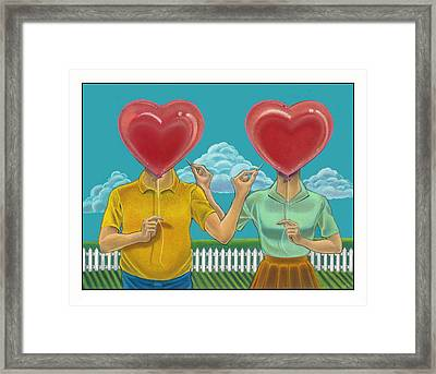 Rude Awakenings Framed Print