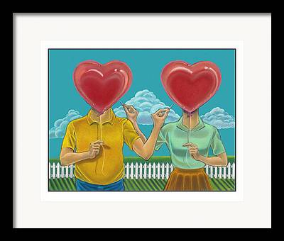 Doomed Love Framed Prints