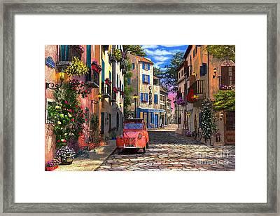 Rue Francais Framed Print