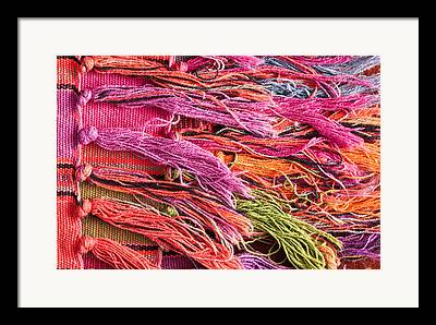 Tapestries - Textiles Photographs Framed Prints
