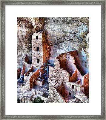 Ruins Framed Print by Dan Sproul