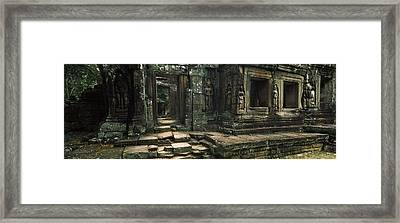 Ruins Of A Temple, Banteay Kdei Framed Print
