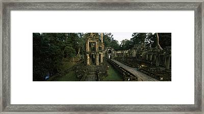 Ruins Of A Temple, Preah Khan, Angkor Framed Print by Panoramic Images