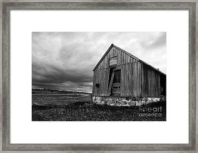 Ruins Of Abandonment Framed Print