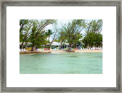 Rum Point Framed Print by Amar Sheow
