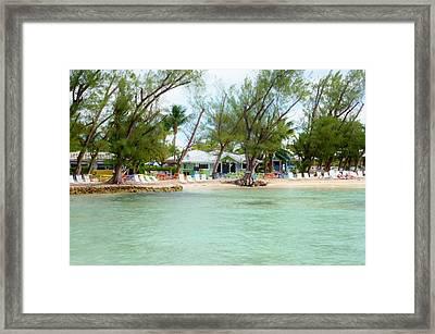 Rum Point Framed Print