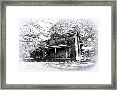 Run Down Framed Print by Todd Hostetter