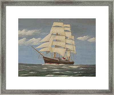 Running With The Wind Framed Print by James Lawler