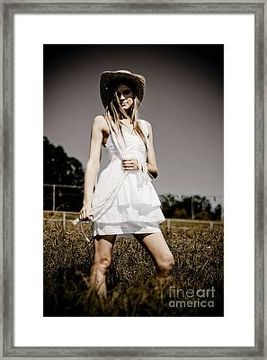 Rural Darkness Framed Print by Jorgo Photography - Wall Art Gallery