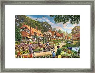 Rural Life Framed Print by Steve Crisp