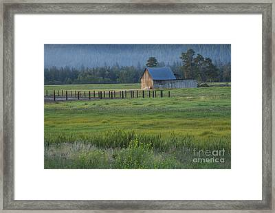 Rural Montana Framed Print by Idaho Scenic Images Linda Lantzy