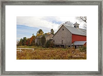 Rural View Framed Print