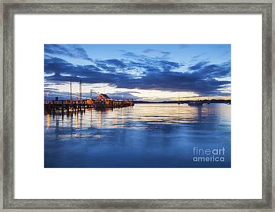 Russell Bay Of Islands New Zealand Framed Print by Colin and Linda McKie