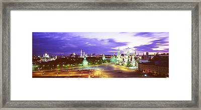 Russia, Moscow, Red Square Framed Print