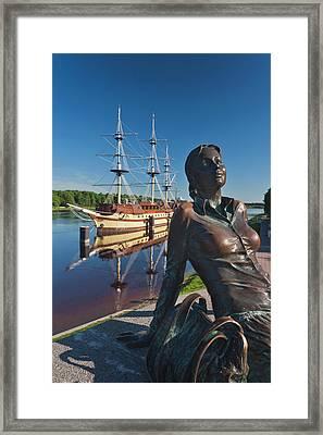 Russia, Novgorod Oblast, Veliky Framed Print