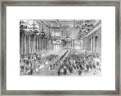 Russia Royal Wedding, 1866 Framed Print by Granger