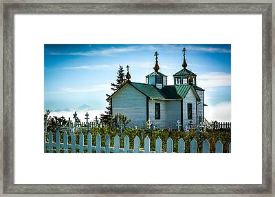 Russian Orthodox Church Framed Print