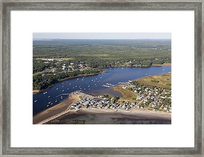 Saco, Maine Me Framed Print by Dave Cleaveland