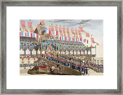 Sacred Festival And Coronation Framed Print
