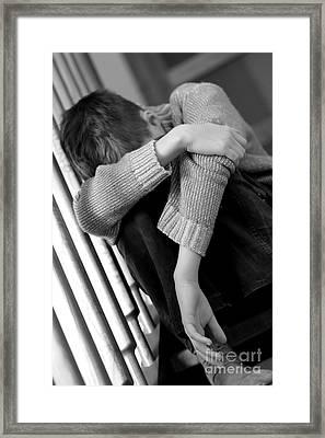 Sadness Framed Print by Michal Bednarek