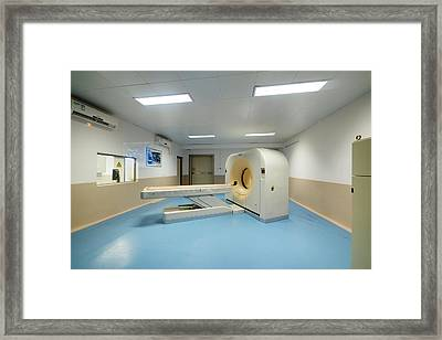 Safari Park Animal Hospital Framed Print by Pan Xunbin