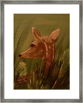 Safe From Harm Framed Print by Renee McKnight