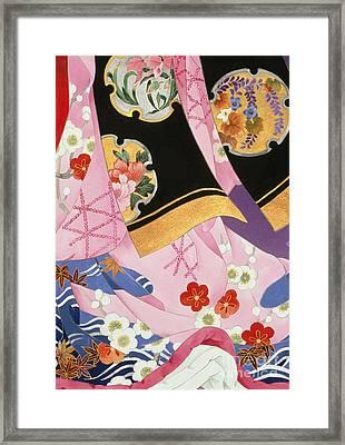 Sagi No Mai Framed Print
