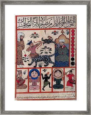 Sagittarius, Islamic Astrology, 1250 Framed Print by Photo Researchers