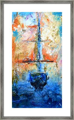 Sail Away With Me Framed Print by Ivan Guaderrama