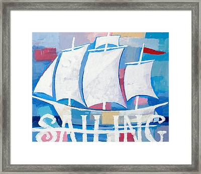Sailing Framed Print by Lutz Baar