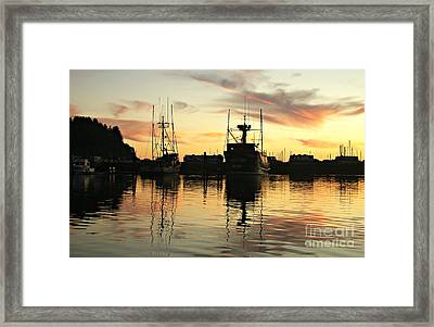 Sailors Delight Framed Print by Mindy Bench