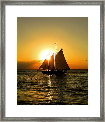 Sailors Dream Framed Print