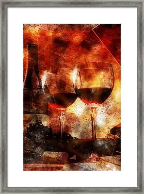 Saint-amour Framed Print