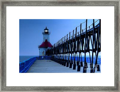 Saint Joseph Lighthouse Framed Print by Twenty Two North Photography