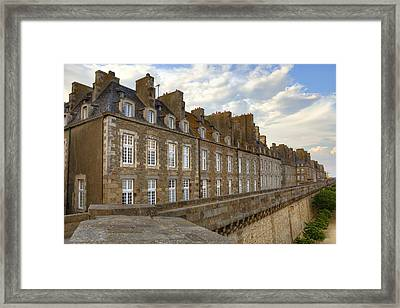 Saint-malo - Brittany Framed Print by Joana Kruse