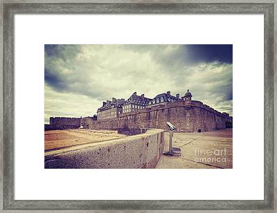 Saint-malo Brittany France Framed Print by Colin and Linda McKie