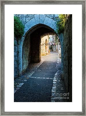 Saint Paul Entrance Framed Print
