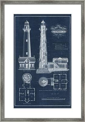 Saint Simon Lighthouse Framed Print