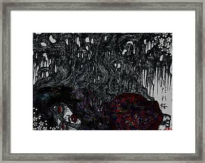 Sakura Framed Print by Akiko Okabe