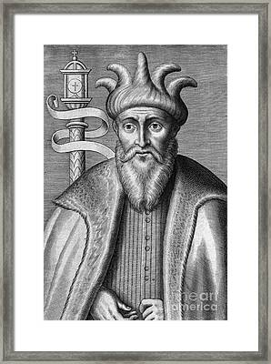 Saladin, Sultan Of Egypt And Syria Framed Print by Chris Hellier