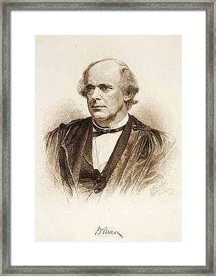 Salmon Portland Chase (1808-1873) Framed Print