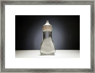 Salt Cellar Framed Print
