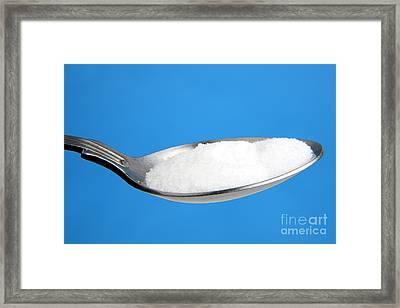 Salt In A Teaspoon Framed Print by Victor de Schwanberg