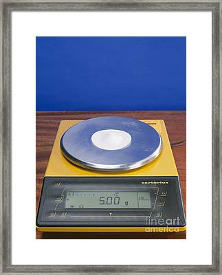 Salt On Scales Framed Print by Andrew Lambert Photography