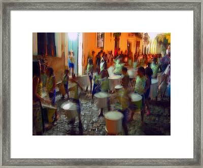 Salvador De Bahia Brasil 2006 World Cup Framed Print