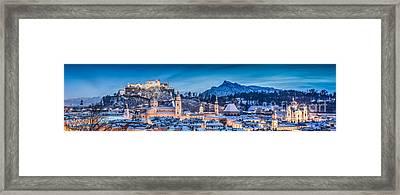 Salzburg Winter Romance Framed Print
