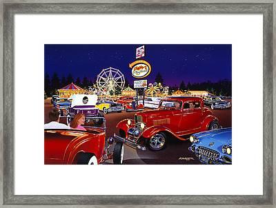 Sammys Playland Framed Print by Bruce Kaiser