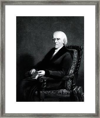 Samuel Hahnemann Framed Print by National Library Of Medicine