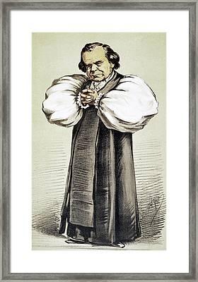 Samuel Wilberforce (1805-1873) Framed Print by Granger