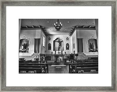 Framed Print featuring the photograph San Carlos Cathedral by Ron White
